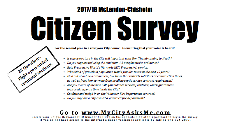 MC Citizen Survey 2017/2018