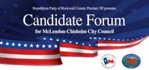 Candidate Forum @ McLendon-Chisholm City Hall