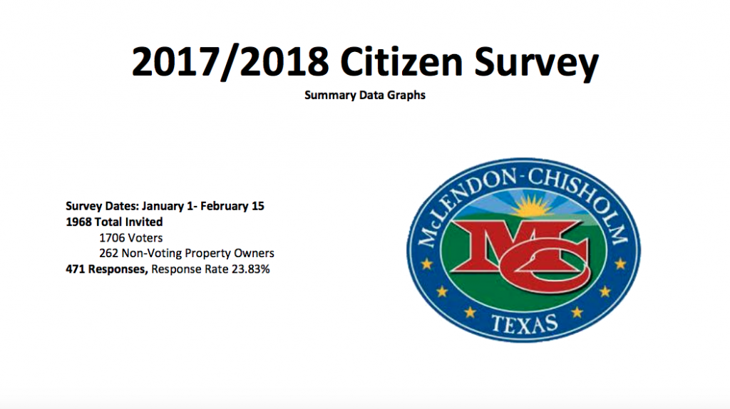 Citizen Survey 2017-2018